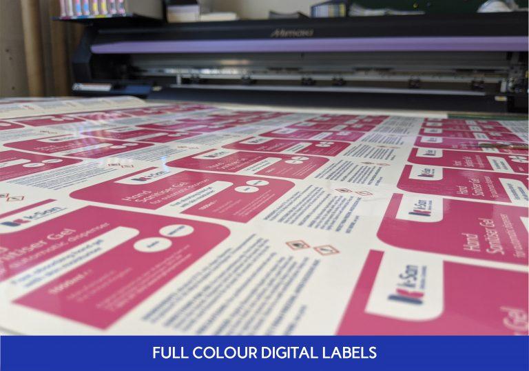 Full Colour Digital Labels