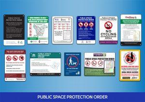 PSPO Signs