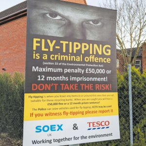 Fly Tipping & Litter Signs