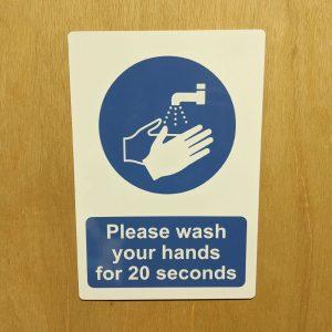 Hygiene-signs